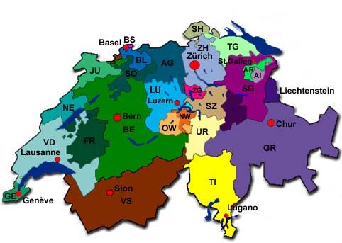 Kantonale Verbände